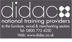 Didac Logo March Grey & White 2011 - bag